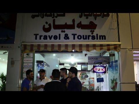 Arbil: the departure terminal for Iraq's exodus