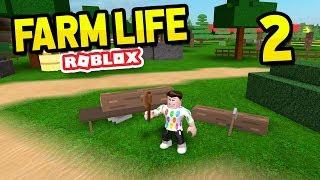 BUILDING A SAWMILL - Roblox Farm Life #2