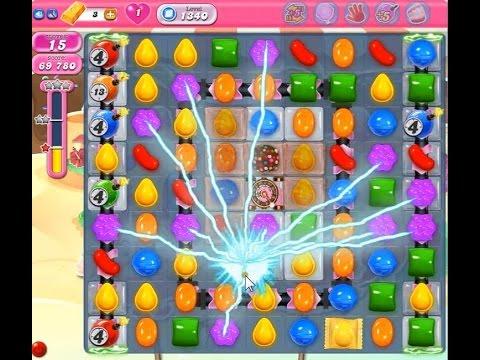 Candy crush saga level 1340 no booster youtube - 1600 candy crush ...