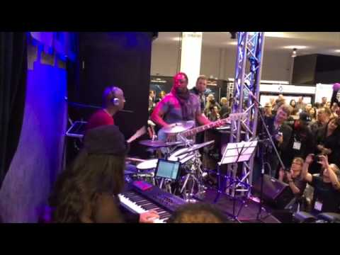 Darryl Jones & Omar Hakim @ Winter NAMM