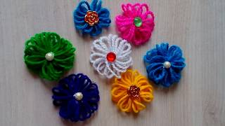 Easy and simple method of flower making