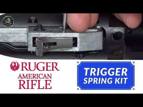 Ruger American Rifle Trigger Job   Aftermarket Trigger Spring Kit - M*CARBO