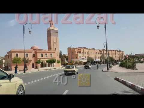 A tour of the city of Ouarzazate, Morocco جولة في مدينة ورزازات المغربية