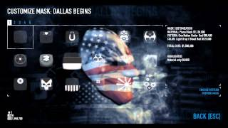 Payday 2: Mask Of The Day Episode 42- Career Criminal (Dallas Begins Request)