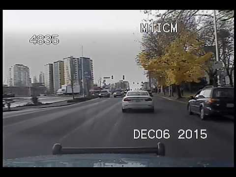 Seattle Police, another video from the 12/6/15 pursuit