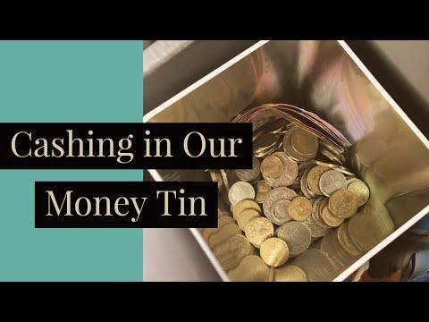 Saving Money | Cashing in Our Coin Tin