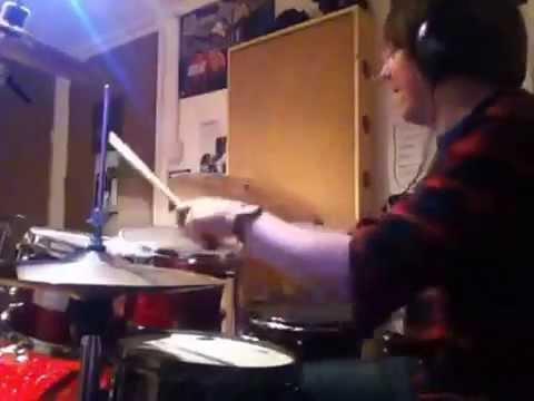 Dark Matter - solo idea 1 - Rockschool Grade 8 drums.
