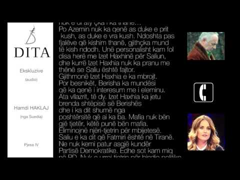Hamdi Haklaj - Interviste ekskluzive nga Suedia per gazeta DITA (pjesa IV)