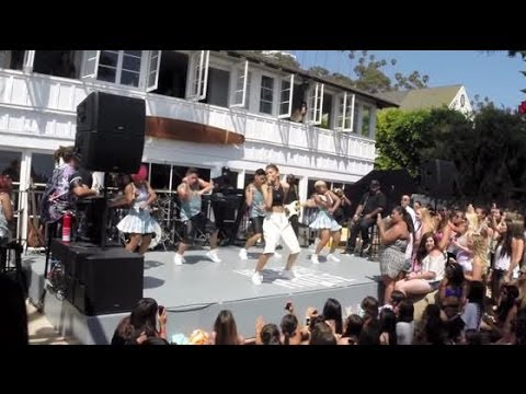 Zendaya Dazzles in Santa Monica Performance   Splash News TV   Splash News TV