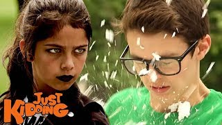 Video Scary Girl Throws Pie for REVENGE download MP3, 3GP, MP4, WEBM, AVI, FLV Oktober 2018