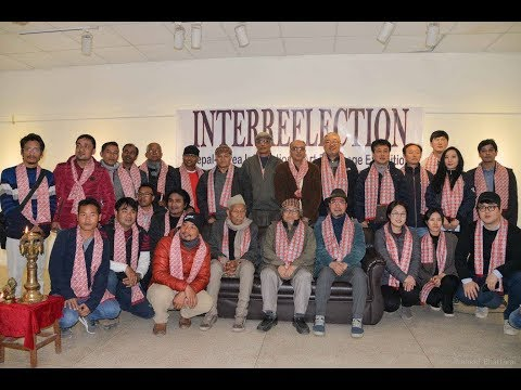 """""""INTERREFLECTION 2018"""" NEPAL- KOREA INTERNATIONAL ART EXCHANGE EXHIBITION. KATHMANDU, NEPAL."""