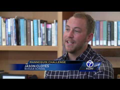 "VIDEO: Bosque School says ""Thank You"" with creative Mannequin Challenge"