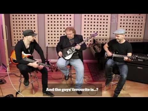 PRS Guitars S2 Custom, Mira & Starla: hands on with Bernie Marsden, Ace and Rob Harris
