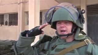 Гуманитарное разминирование российскими саперами города Дейр-эз-Зор