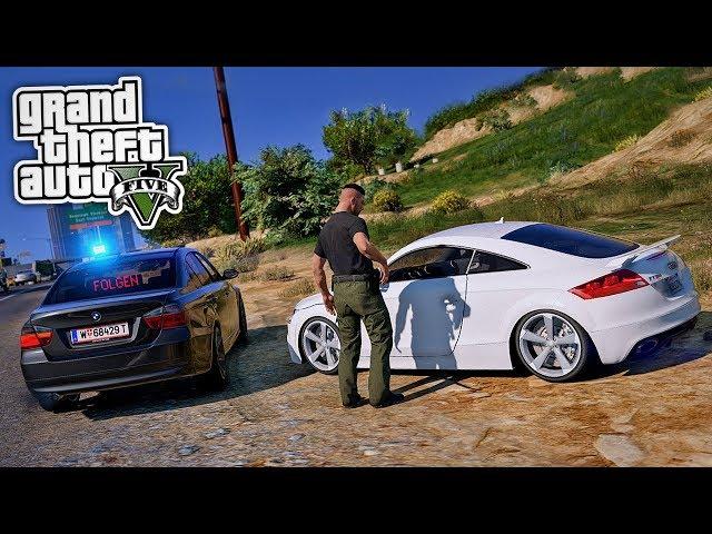 Zivilpolizei stellt GESUCHTEN RASER! 😱 - GTA 5 Polizei Mod