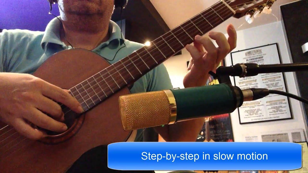 A La Nanita Nana Acoustic Guitar Classic Fingerstyle Youtube
