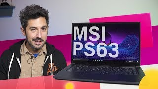 mSI PS63 Modern Review: A Bold Balance of Power and Battery Life