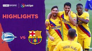 Alavés 0-5 Barcelona | LaLiga 19/20 Match Highlights