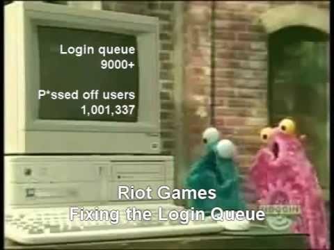 League of Legends - Riot Games fixing login queue