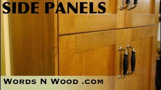 Custom Ikea Kitchen: Side Panels and Pantry  (WnW #153)