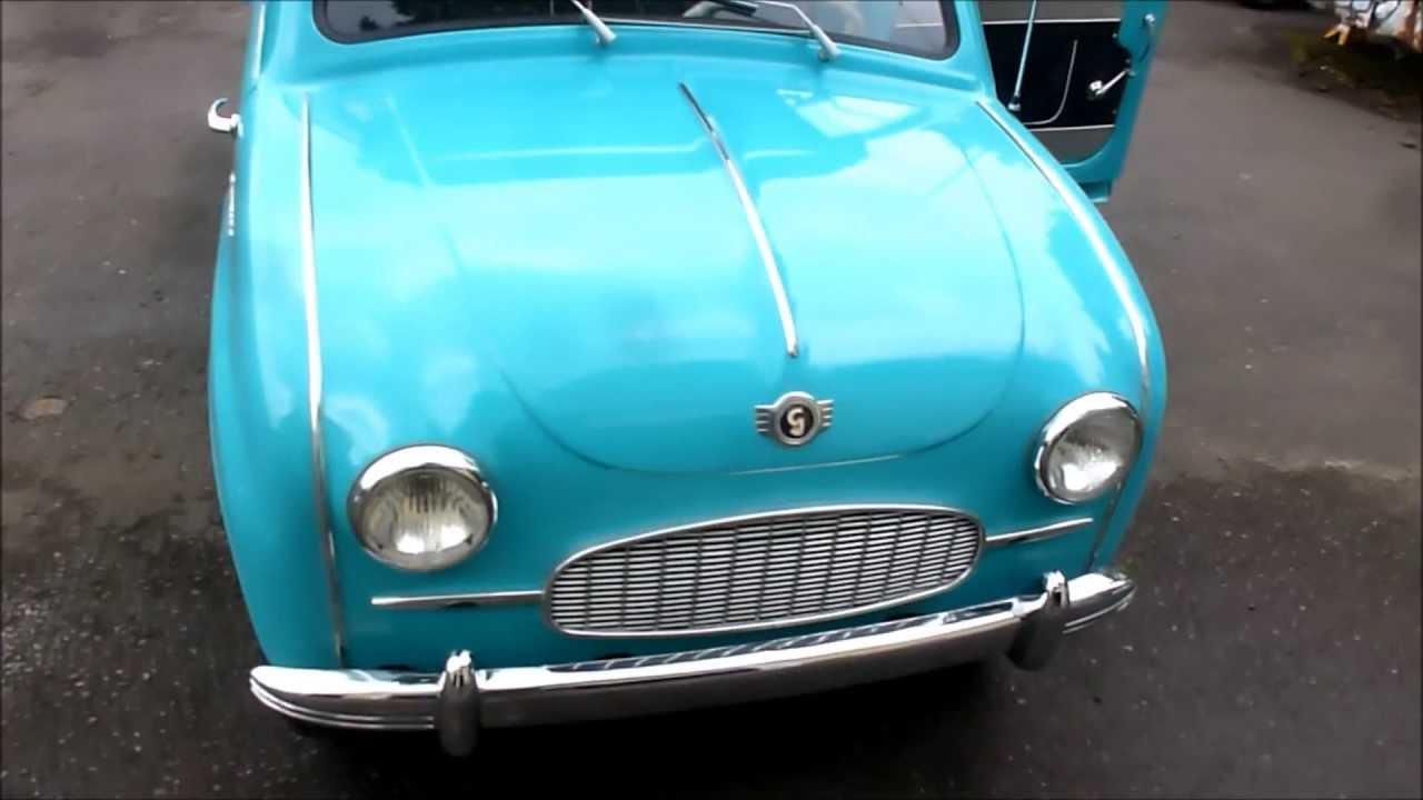A 1958 Goggomobil Showed Up Today