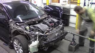 Ремонт кузова. Быстрый Лансер. Body repair after an accident.