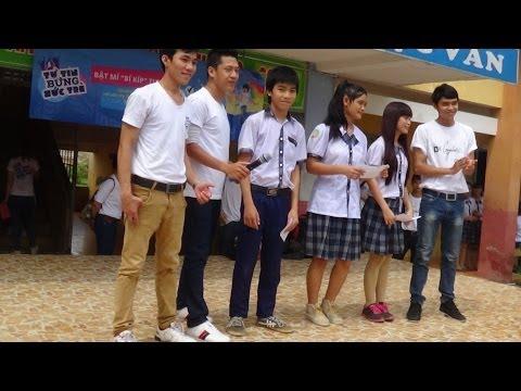 """Thi nhảy """"Tự tin bừng sức trẻ"""" 2014 - Trường THCS Nguyễn Thái Bình"""