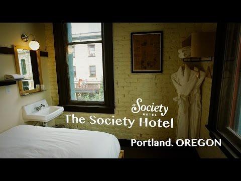 The Society Hotel. Portland. Oregon.
