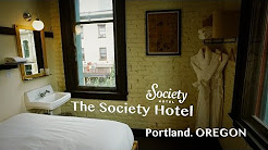The Society Hotel. Portland. Oregon.