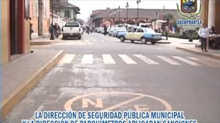 Reordenamiento Vial Zacapoaxtla Marzo 2014