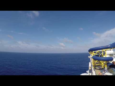 Norwegian Escape: View from the plank