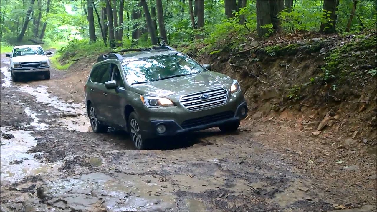 2015 Subaru Outback Amp Chevy Silverado Off Road Youtube