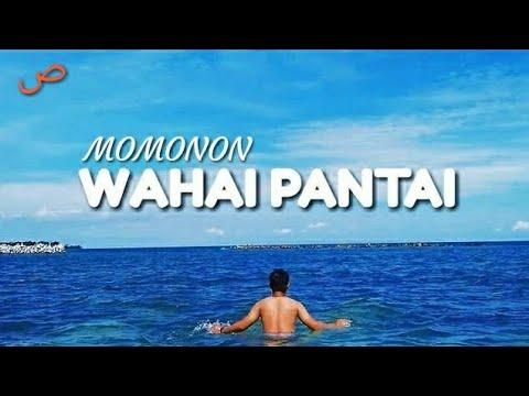 MOMONON - WAHAI PANTAI ( Video Lyrics Cover )