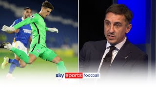 """He doesn't like the goalkeeper, he wants him out!"" 