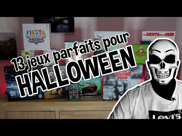 [🏆TOP🏆] 13 jeux de société parfaits pour Halloween 2020