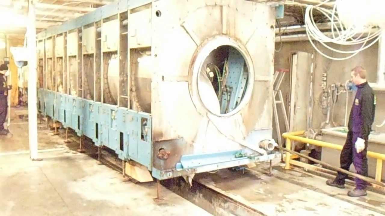 evacuation d 39 un tunnel de lavage 15 tonnes youtube. Black Bedroom Furniture Sets. Home Design Ideas