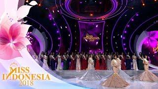 Pengumuman Pemenang Miss Indonesia 2018 | Miss Indonesia 2018