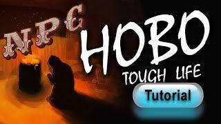 Hobo: Tough Life video game | guide #4 | homeless NPC