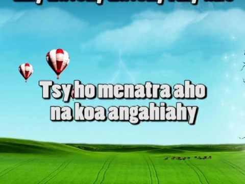 Tsy Avy Amin'ny Olona-KARAOKE-Zah'MTF (Mpamafy Teny Fiainana)