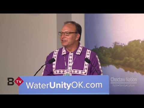 Choctaw Nation - Water Agreement Press Conference