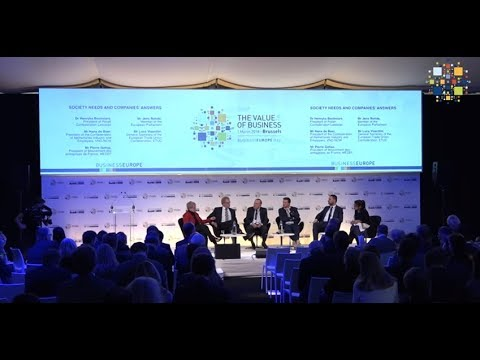 BusinessEurope Day 2018: Society needs and companies' answers