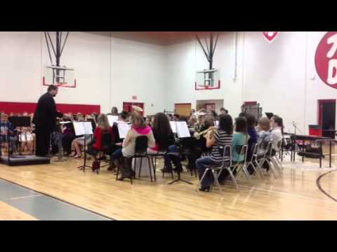 Poca Middle School Band 7th and 8th Grade- Christmas 2013- Part 2