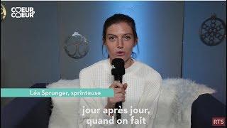 Sortie de Studio : Léa Sprunger, sprinteuse