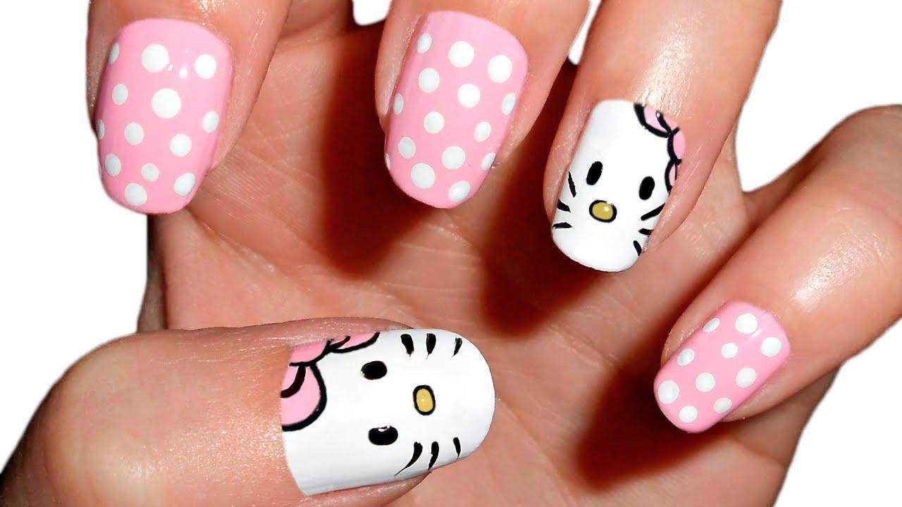 Manicura Hello Kitty