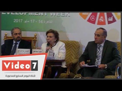 مرفت التلاوى: أطالب الرئيس بنصيب للمرأة فى مشروع الـ 1.5 مليون فدان  - 16:21-2017 / 5 / 16