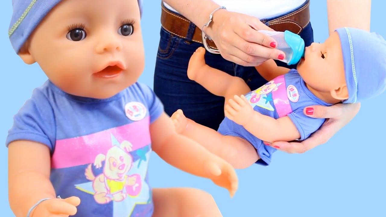 Baby Born Boy Zack👶🍼 By Zapf Creations - YouTube