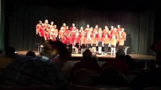 "21st Century Youth Choir singing """