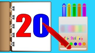 Crayons club | number song | learn numbers with crayons | videos for kids