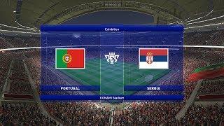 PORTUGAL vs. SRBIJA - PES 2019