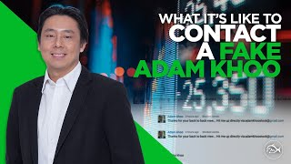 What It's Like to Contact a Fake Adam Khoo